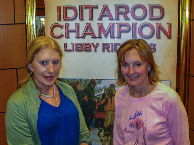 Libby and Cheri.
