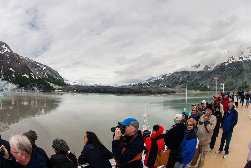 Glacier Bay and fellow cruisers