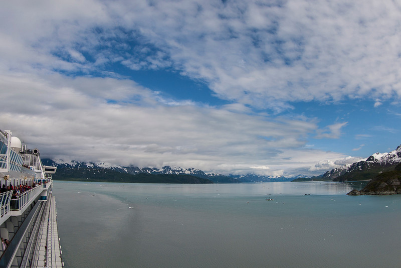 Heading out of Glacier Bay
