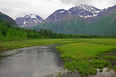Beaver ponds near the Eagle River