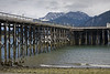 Pier at Haines,Ak - tides are extreme here