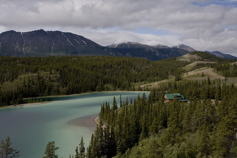 Emerald Lake in Yukon