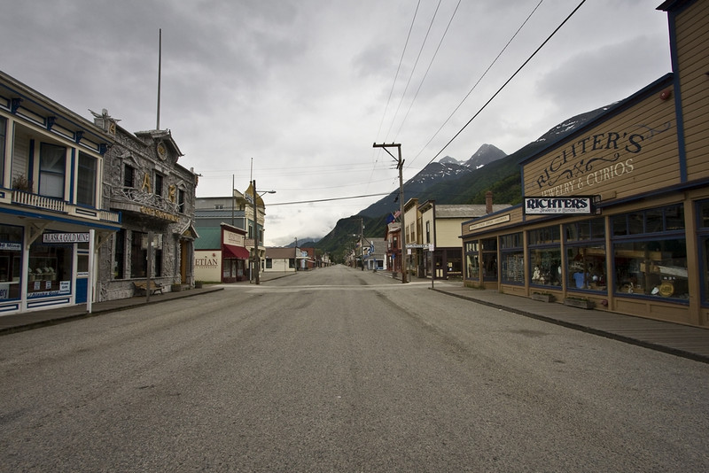Skagway at 4am, looking in the opposite direction