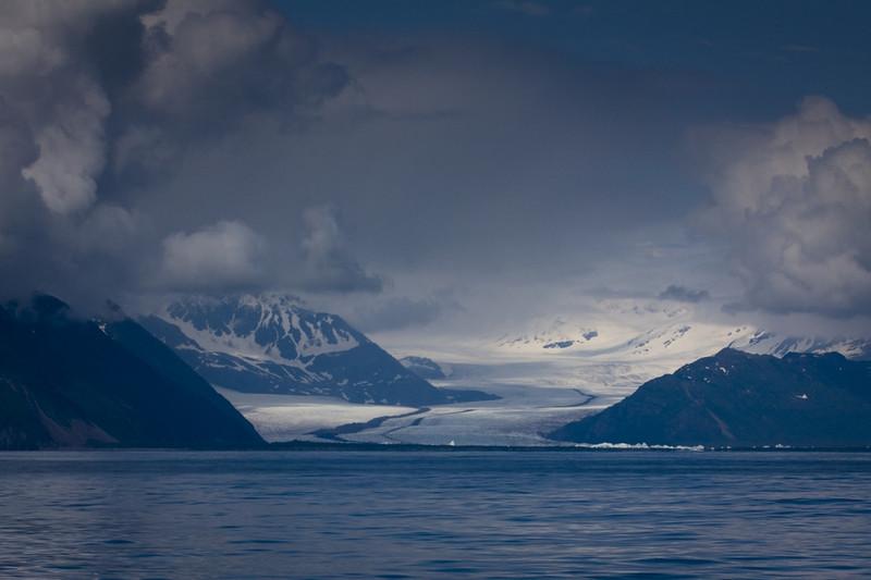 Glacier trail in Kenai Fjord NP