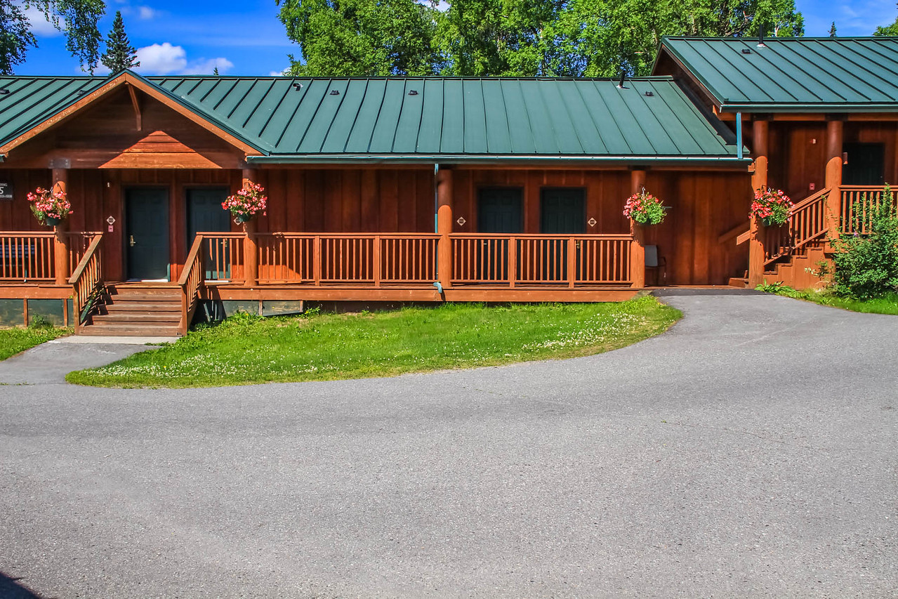 Our Cabin at Mt. McKinley Princess Wilderness Lodge