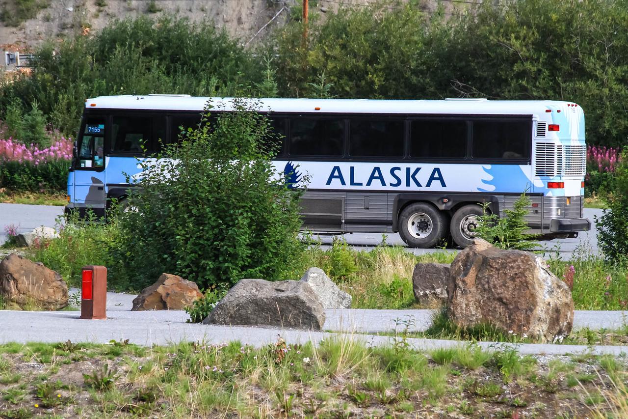 Matanuska Glacier - Glenn Hwy