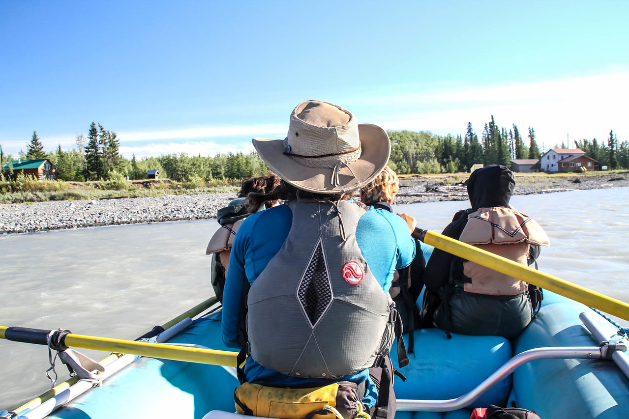 River Rafting on Tanzlina & Copper Rivers