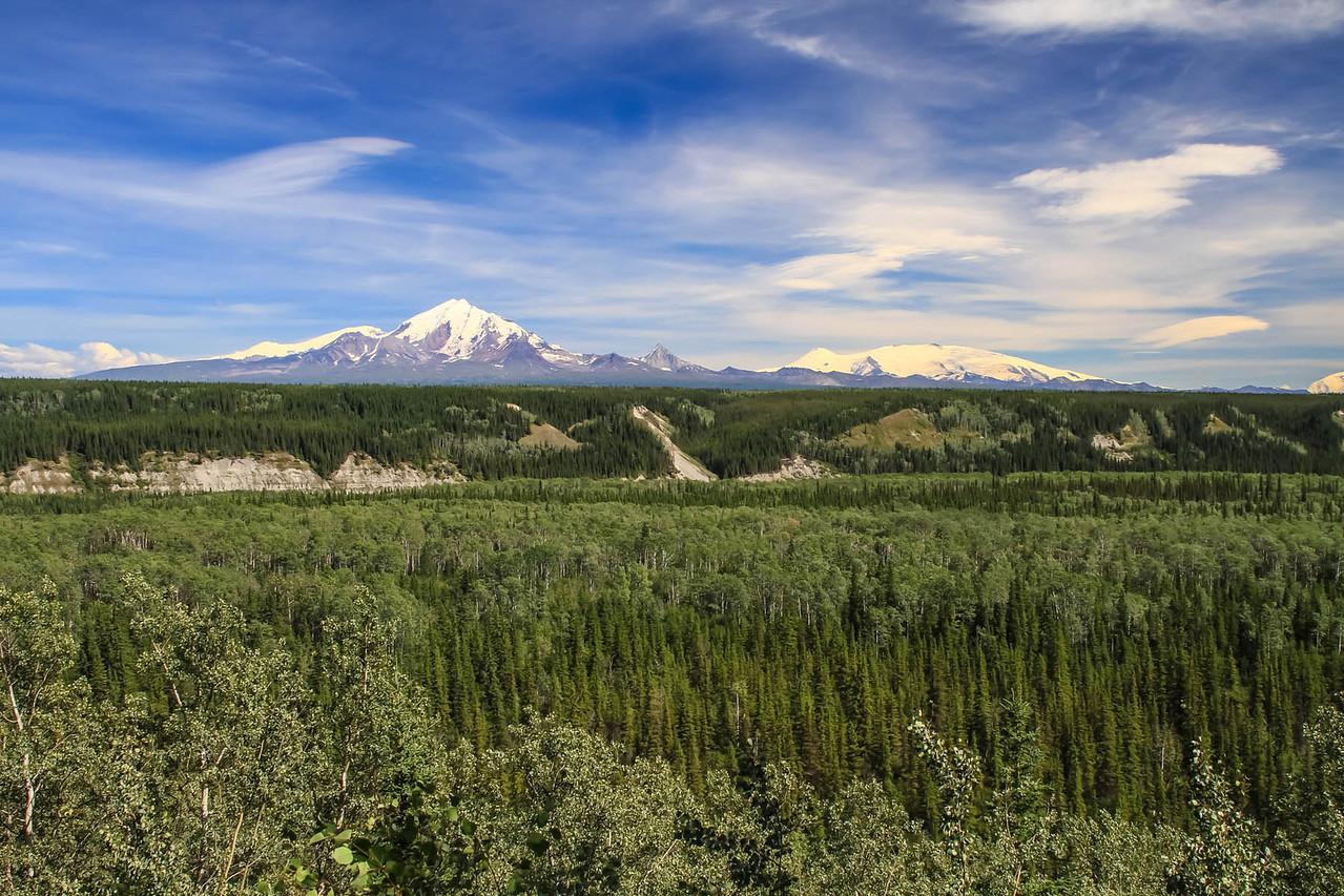 Mt. Drum & Mt. Wrangell