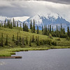 Wonder Lake in Denali National Park