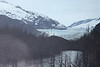 Our first view of the Mendenhall glacier outside Juneau.