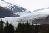 A closer view of the Mendenhall glacier.