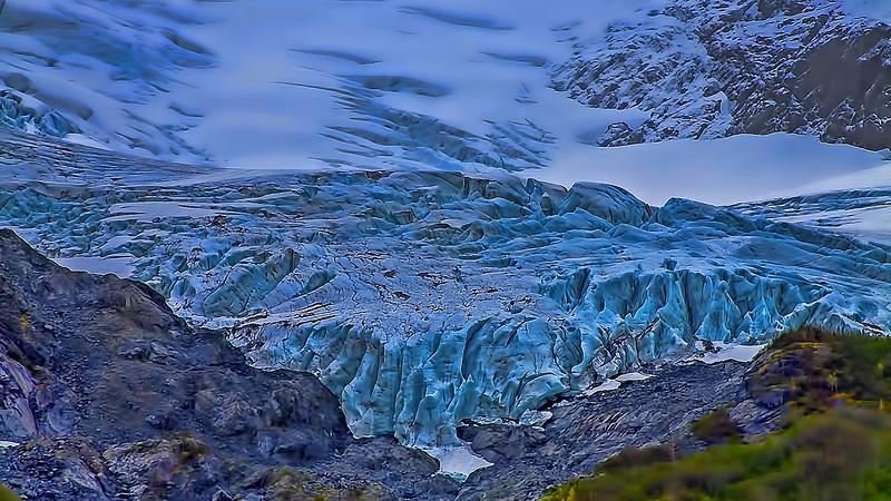 Explorer Glacier Chugach Mountains Alaska
