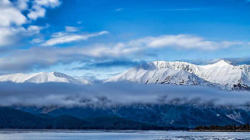 Kenai Mountains Alaska Cook Inlet