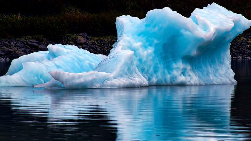 Iceberg Portage Lake Alaska