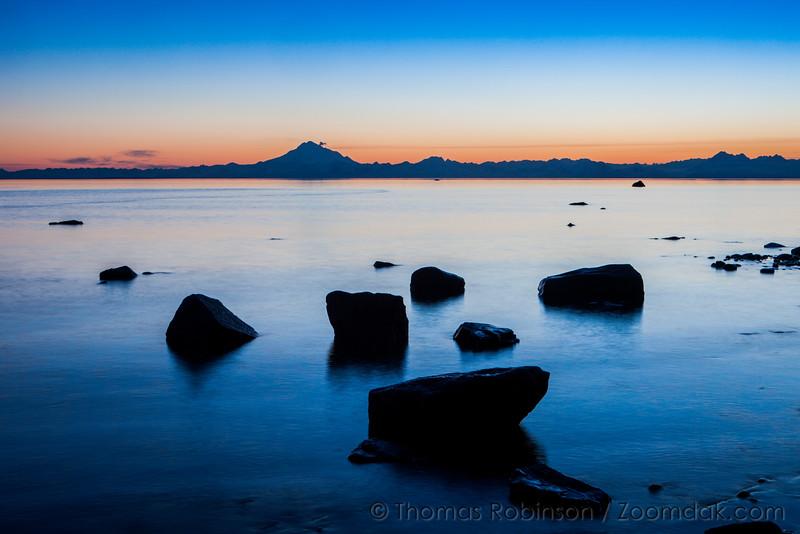 Kenai Beach at Sunset