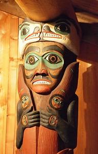 Klingit Totem in Totem bight state park