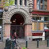 Pioneer Building entrance