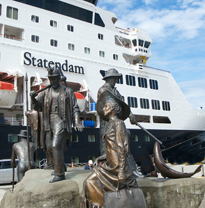 MS Statendam and friends in Ketchikan