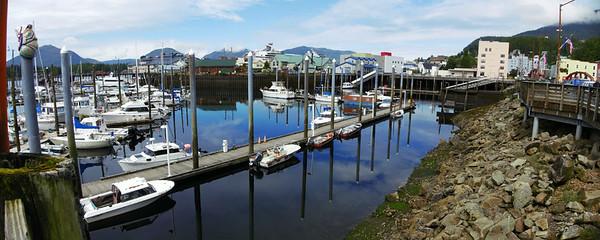 Marina in Ketchikan, Alaska