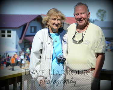 Ted and Jackie Tepper at the Sea Parrot Inn, celebrating the 4th of July, 2014, in Seldovia, Alaska