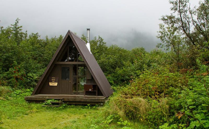USFS rental cabin.