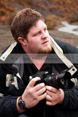 Mark, posing for me in Denali