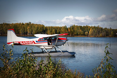 float plane, gave us the idea to go flying!