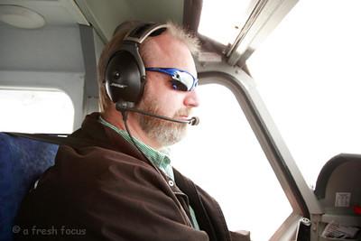 our pilot, Tim!