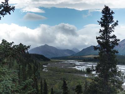 Panoramic View in Denali National Park
