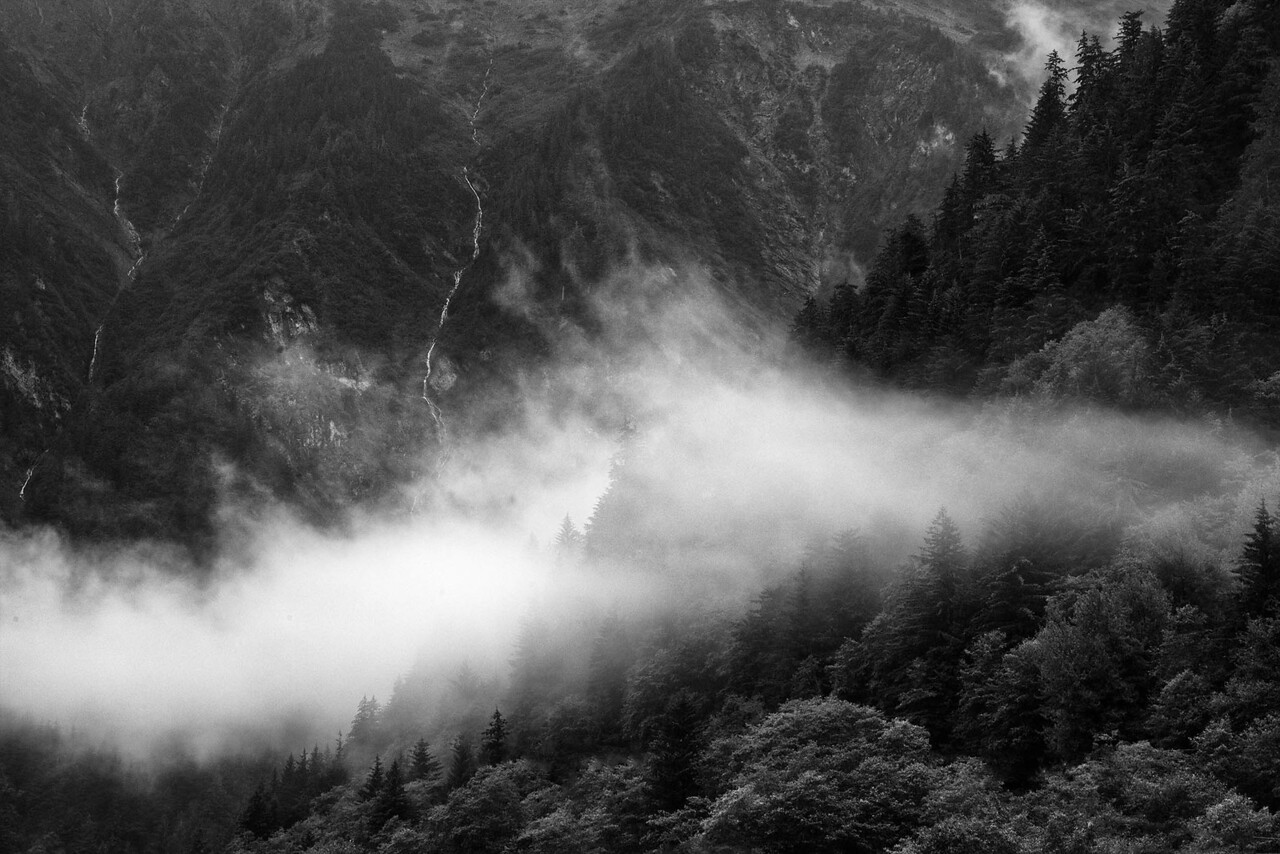 Mountains above Juneau