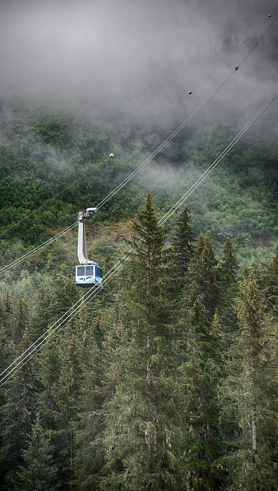 Cable Car at Mt. Alyeska