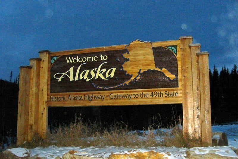 Looking back into Alaska