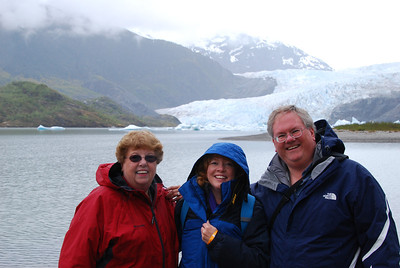 First in Juneau was the Mendenhall glacier.
