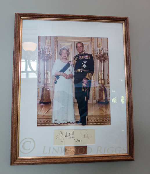 The queen stayed here at the Empress Hotel.