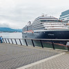 This is the Zuiderdam, a sister ship to the one we sailed on (the Statendam).