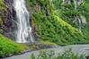 bridal veil falls, Valdez
