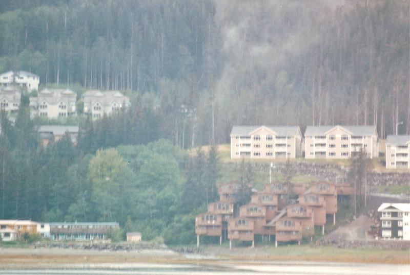 Views of Juneau, Alaska<br /> Alaska Inside Passage Cruise - Seward, Alaska to Vancouver, Canada - Holland America Cruise Lines  - May 17-24, 1998