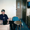Randal in Our Cabin<br /> Alaska Inside Passage Cruise - Seward, Alaska to Vancouver, Canada - Holland America Cruise Lines  - May 17-24, 1998