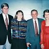 Randal, Donna, Charlie and Louise - Happy Cruising Buddies<br /> Alaska Inside Passage Cruise - Seward, Alaska to Vancouver, Canada - Holland America Cruise Lines  - May 17-24, 1998