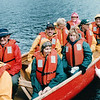Canoe Returns to Shore - Mountain Lake Canoe Adventure - Ketchikan, Alaska<br /> Alaska Inside Passage Cruise - Seward, Alaska to Vancouver, Canada - Holland America Cruise Lines  - May 17-24, 1998