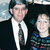 Randal and Donna - Gathering in Jenks' Cabin<br /> Alaska Inside Passage Cruise - Seward, Alaska to Vancouver, Canada - Holland America Cruise Lines  - May 17-24, 1998