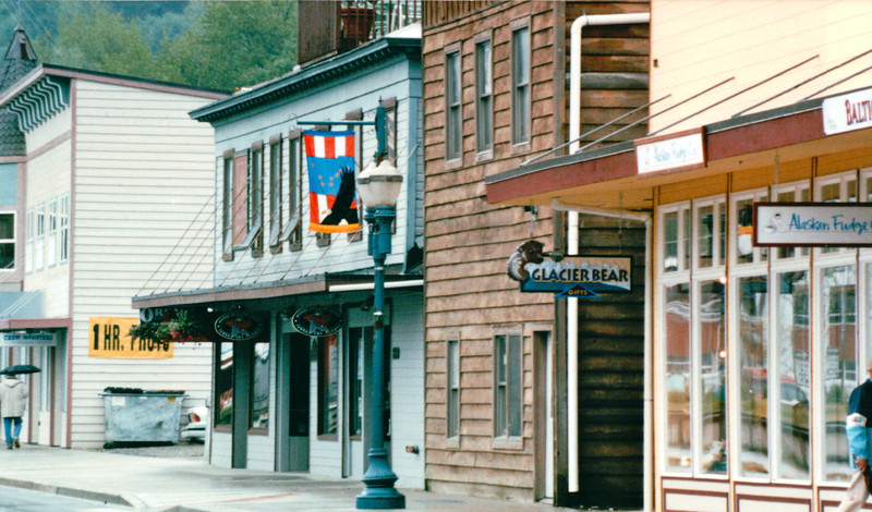 City of Juneau, Alaska<br /> Alaska Inside Passage Cruise - Seward, Alaska to Vancouver, Canada - Holland America Cruise Lines  - May 17-24, 1998