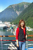 On the deck in Juneau.