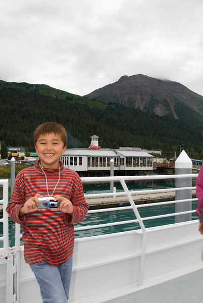 Ethan is very excited to be starting his Fjords Tour.  Soon, he'd change his tune.