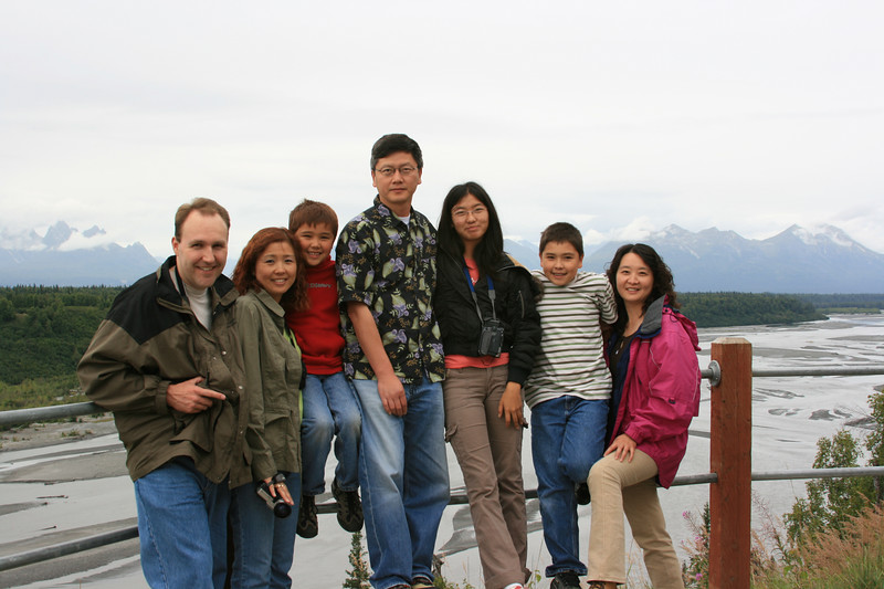 I believe this was at a Denali viewing site.  It's hard to tell, since Denali was hiding.
