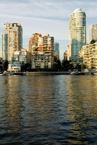 View from Granville Island pier.
