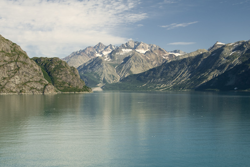 Glacier Bay is really calm.