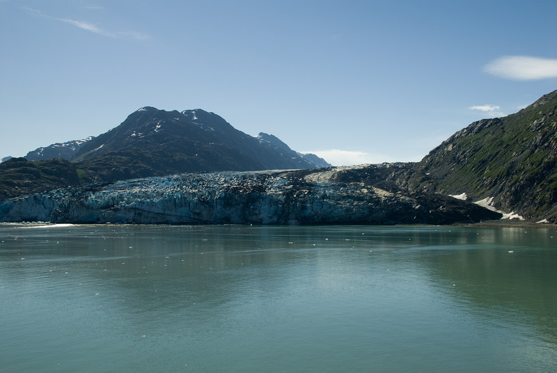 These glaciers are big and dirty, like so many things in life, yet so very different in most ways.