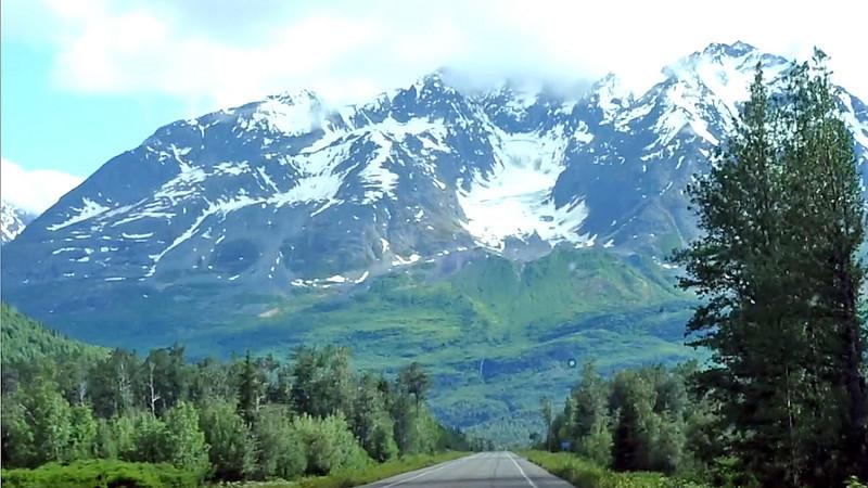 Vandana in Alyeska, Girdwood to GlenAllen to Valdez.