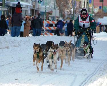 Dog Musher - Fur Rondy - Anchorage - Alaska